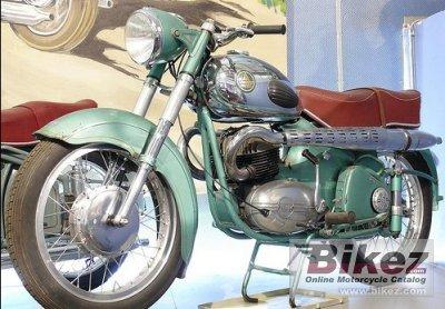 1958 Ardie BZ 350 D