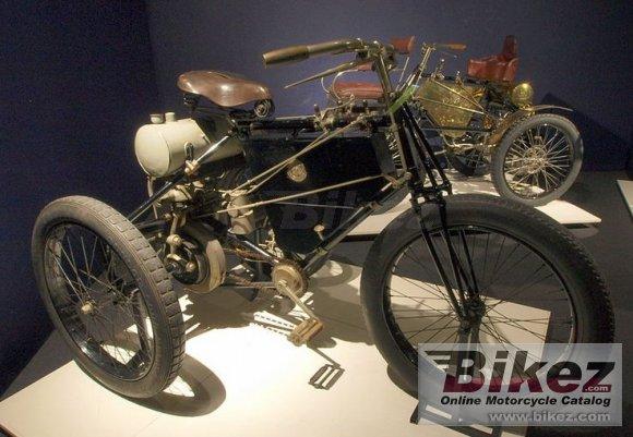 1898 Ariel De Dion Tricycle