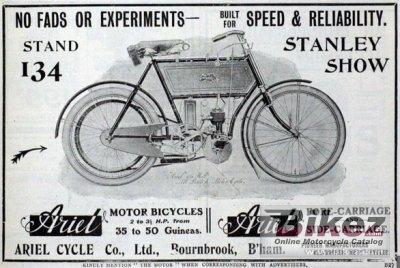 1902 Ariel 2 hp