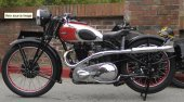 1936 Ariel VH 500 Red Hunter