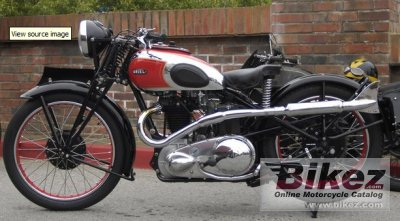 1937 Ariel VH 500 Red Hunter