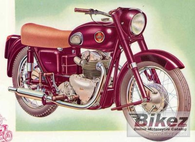 1945 Ariel VH 500 Red Hunter