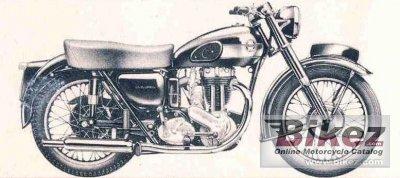 1947 Ariel NH 350 Red Hunter