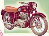 1949 Ariel VH 500 Red Hunter