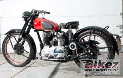 1950 Ariel KH 500 Red Hunter