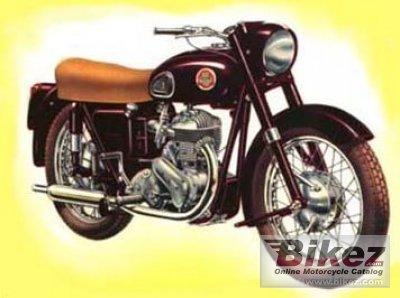 1950 Ariel VB 600