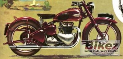1951 Ariel KH 500 Red Hunter