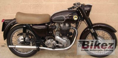 1951 Ariel VH 500 Red Hunter