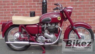 1955 Ariel VH 500 Red Hunter