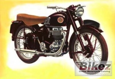 1956 Ariel LH 200 Colt