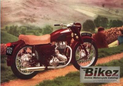 1956 Ariel NH 350 Red Hunter