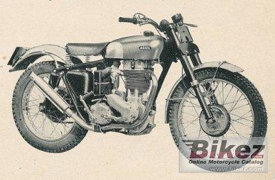 1957 Ariel HT5 500 Trials