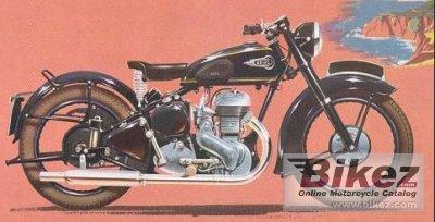 1958 Ariel VB 600