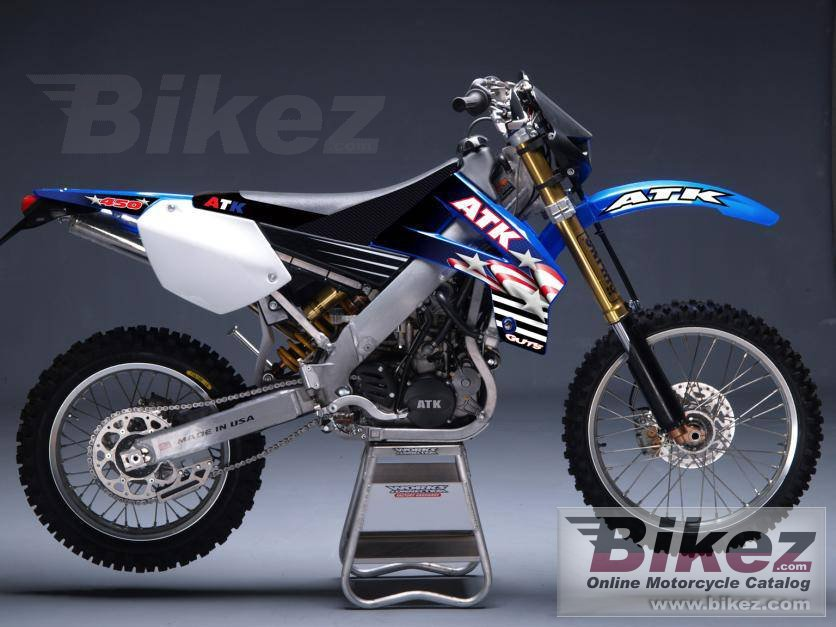 Big ATK 450 mx picture and wallpaper from Bikez.com