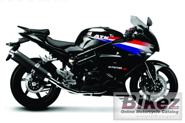 Big ATK gt650r picture and wallpaper from Bikez.com
