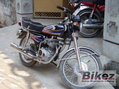 2000 Atlas Honda CG 125 - Millenium Power photo