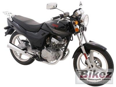 2010 Azel Street Bike 125cc
