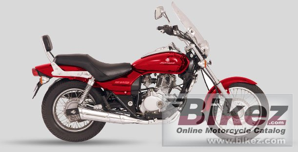 Big Bajaj avenger 220 picture and wallpaper from Bikez.com