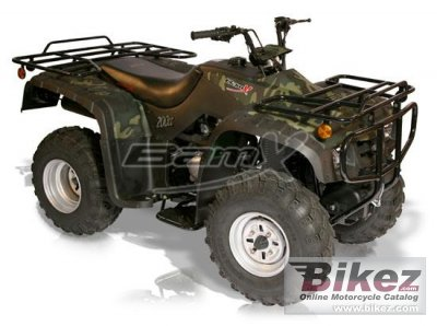 2012 BamX BX200-U Back Country