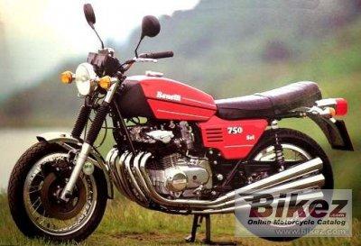 1977 Benelli 750 Sei