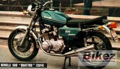 1979 Benelli 500 LS