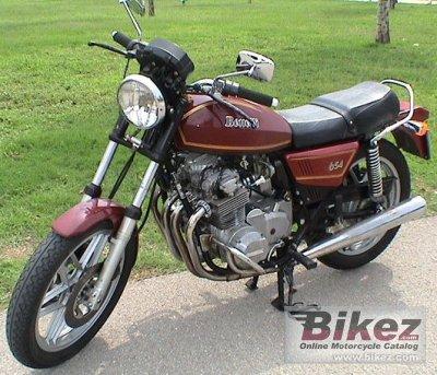 1983 Benelli 654 Sport