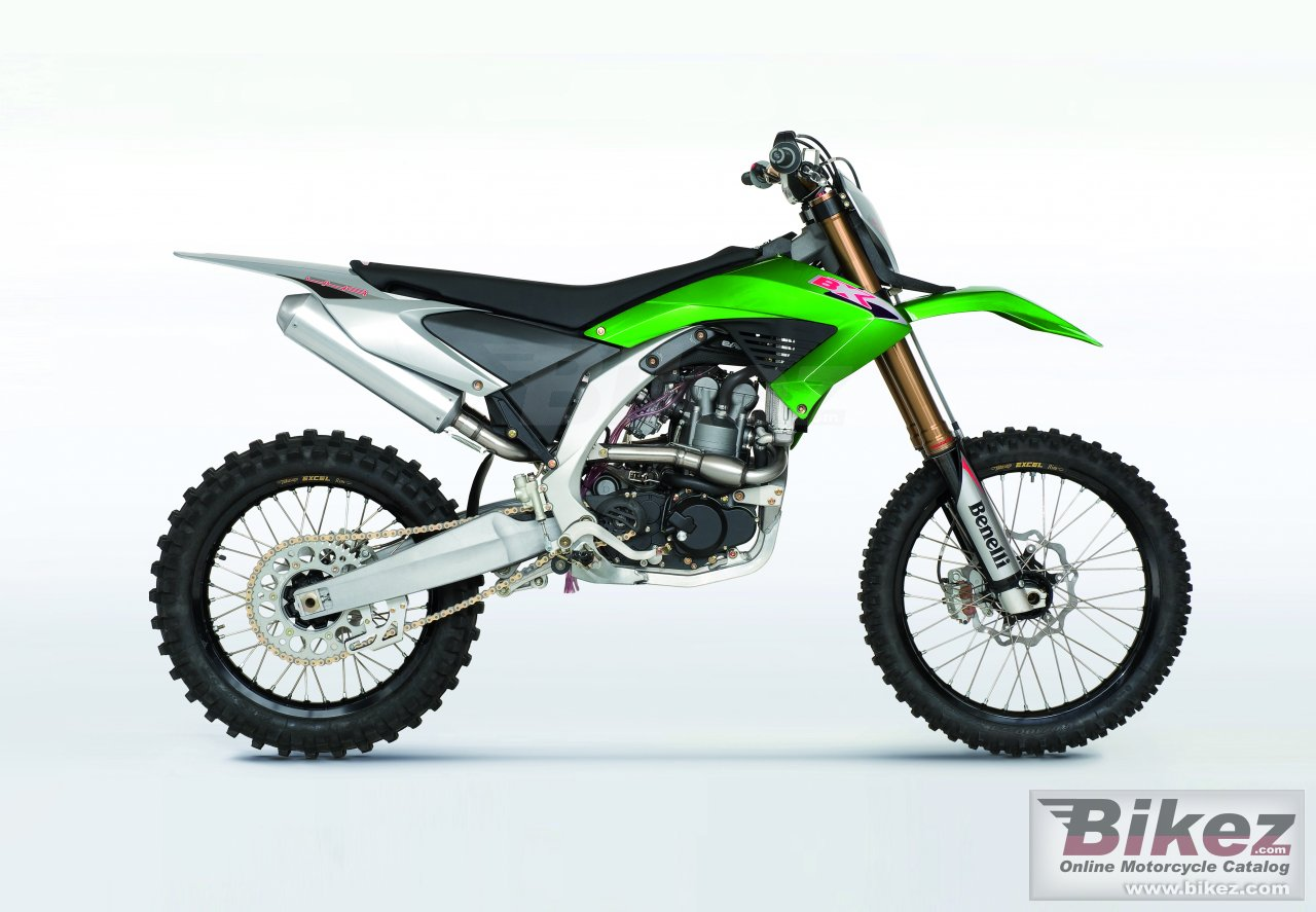 Big Benelli bx 449 cross picture and wallpaper from Bikez.com
