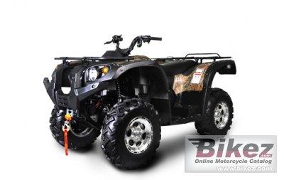 2010 Bennche Gray Wolf 700