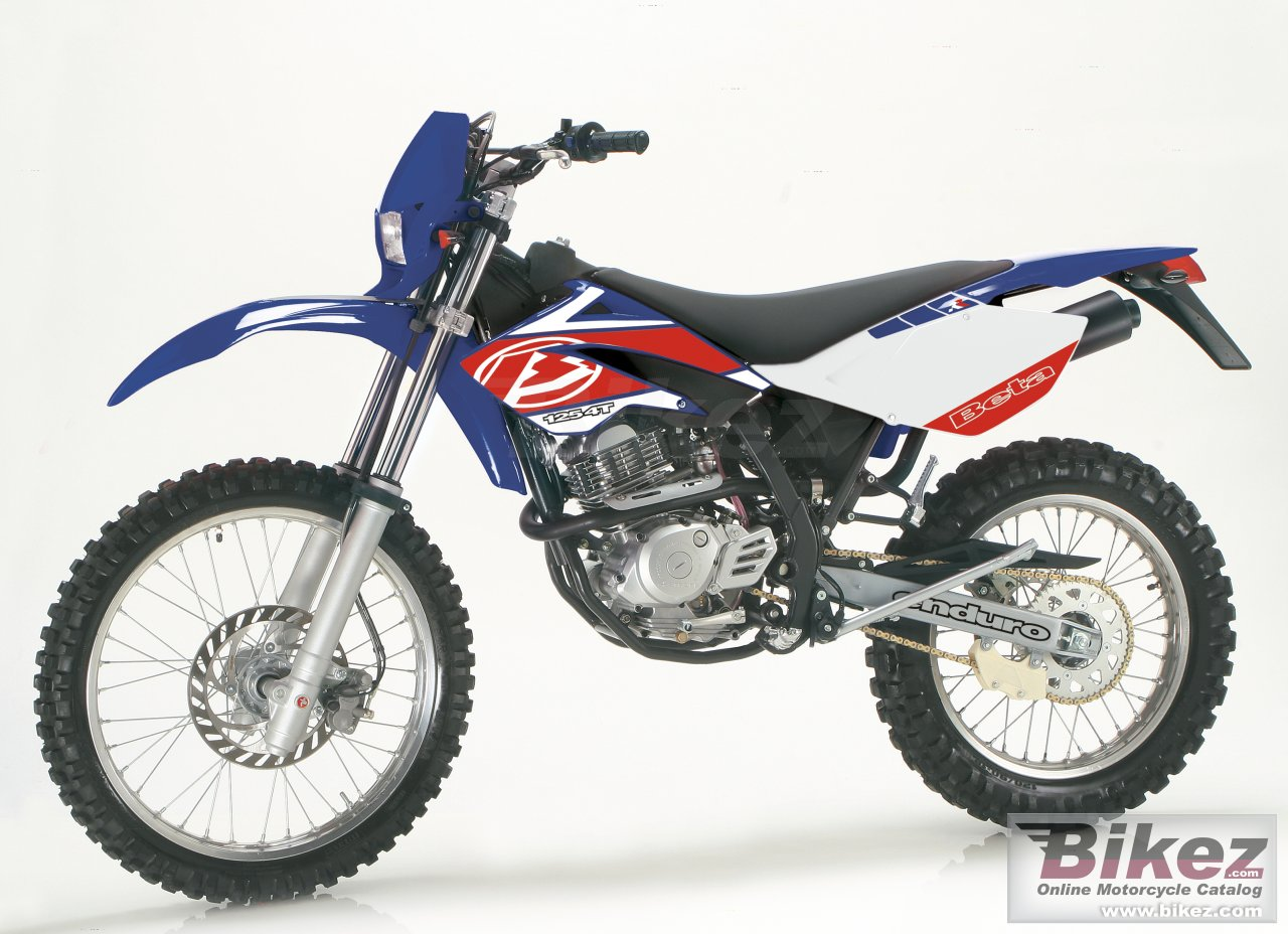 Big Beta rr 125 enduro picture and wallpaper from Bikez.com