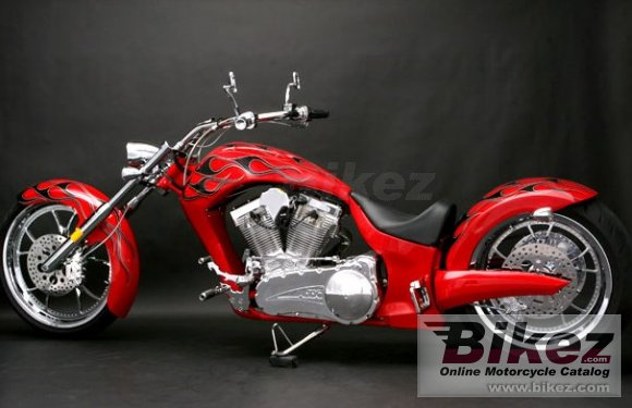 2009 Big Bear Choppers Paradox 100 Carb