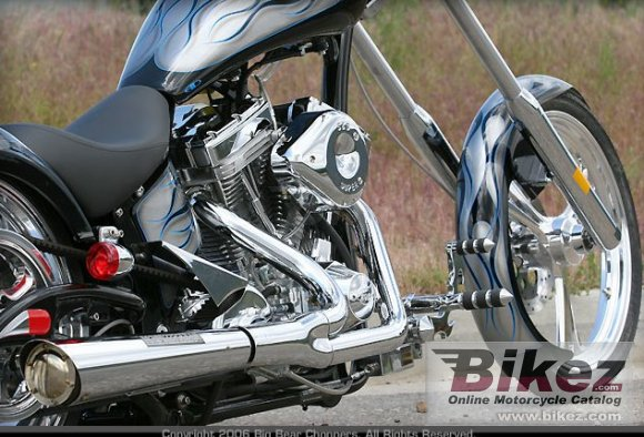 2009 Big Bear Choppers Devil�s Advocate 100 EFI