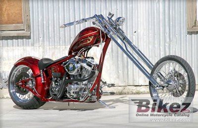 2009 Big Bear Choppers Merc Softail 100 Carb