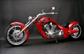 2010 Big Bear Choppers Paradox 100 Smooth Carb