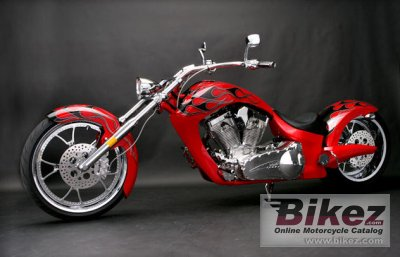 2010 Big Bear Choppers Paradox 100 Smooth Carb photo
