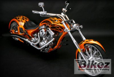 2010 Big Bear Choppers Athena ProStreet 100 Smooth Carb photo