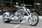 2010 Big Bear Choppers Athena ProStreet 100 Smooth EFI
