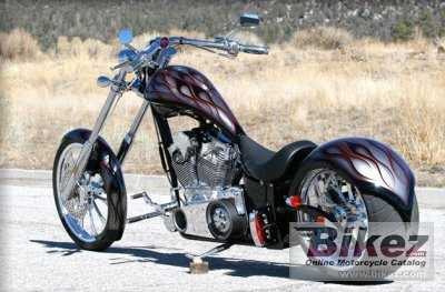2010 Big Bear Choppers Sled 100 Smooth Carb photo