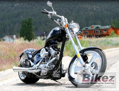 2010 Big Bear Choppers Devils Advocate 100 Smooth Carb photo