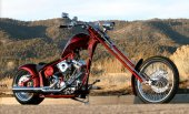 2010 Big Bear Choppers Merc Softail 100 Smooth Carb