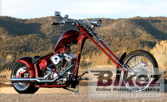 Big Bear Choppers Merc Softail 100 Smooth Carb