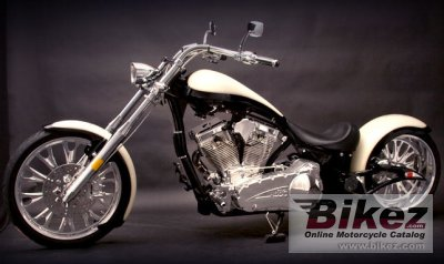 2010 Big Bear Choppers Mis Behavin 100 Smooth EFI photo