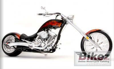 2010 Big Bear Choppers Athena 100 Smooth Carb