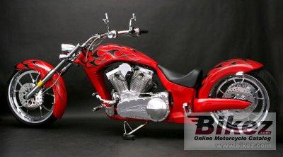 2010 Big Bear Choppers Paradox 114 X-Wedge EFI