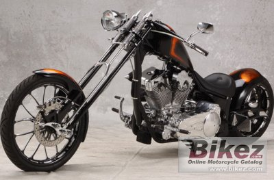2010 Big Bear Choppers Rage 100 Smooth Carb