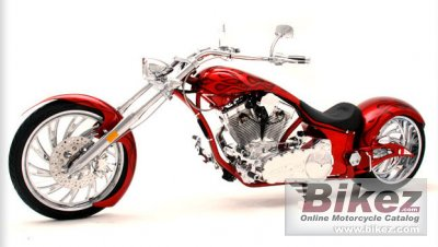 2010 Big Bear Choppers Sled ProStreet 100 Smooth Carb