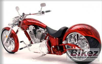 2010 Big Bear Choppers Sled ProStreet 114 X-Wedge EFI
