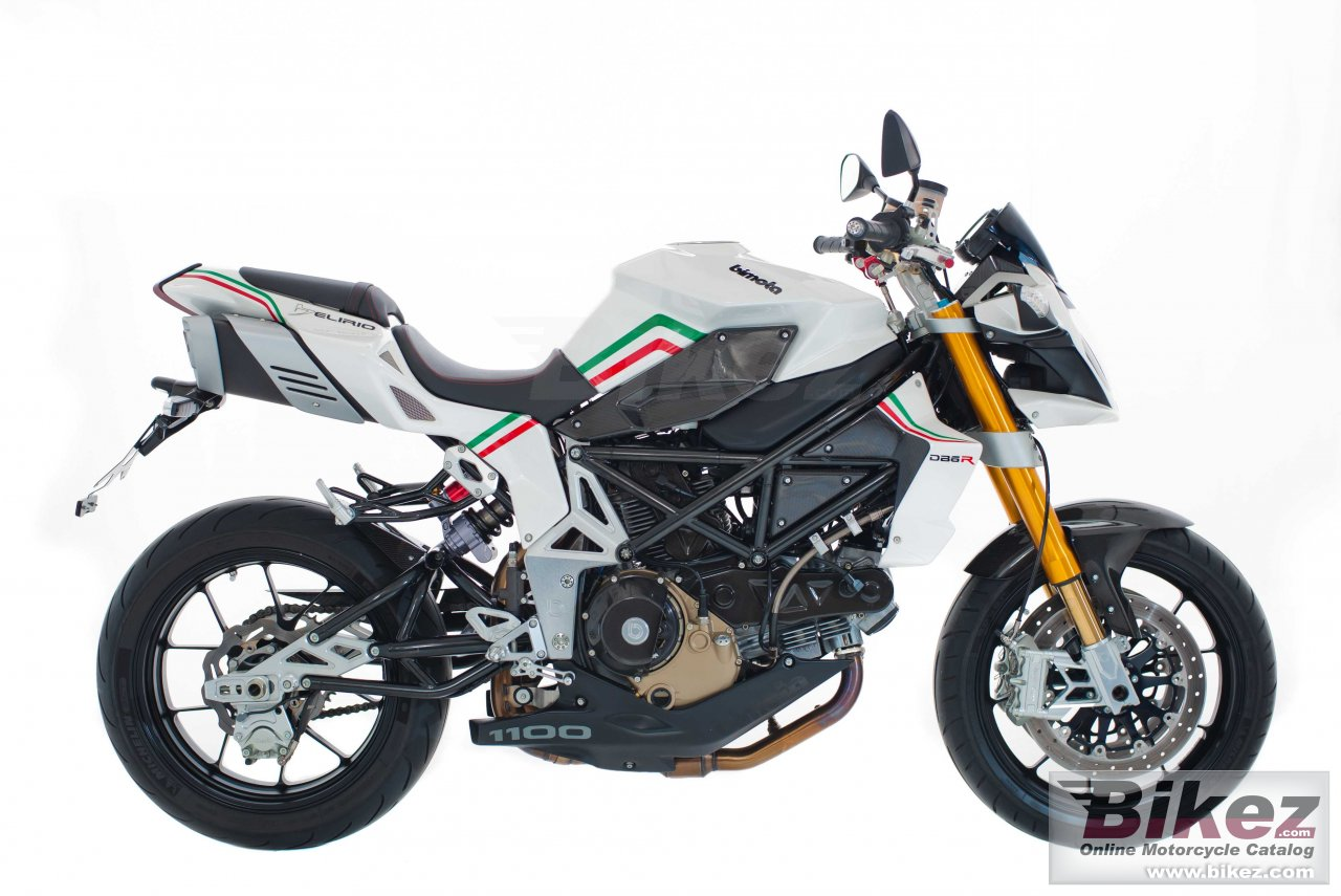 Big Bimota db6 delirio re picture and wallpaper from Bikez.com