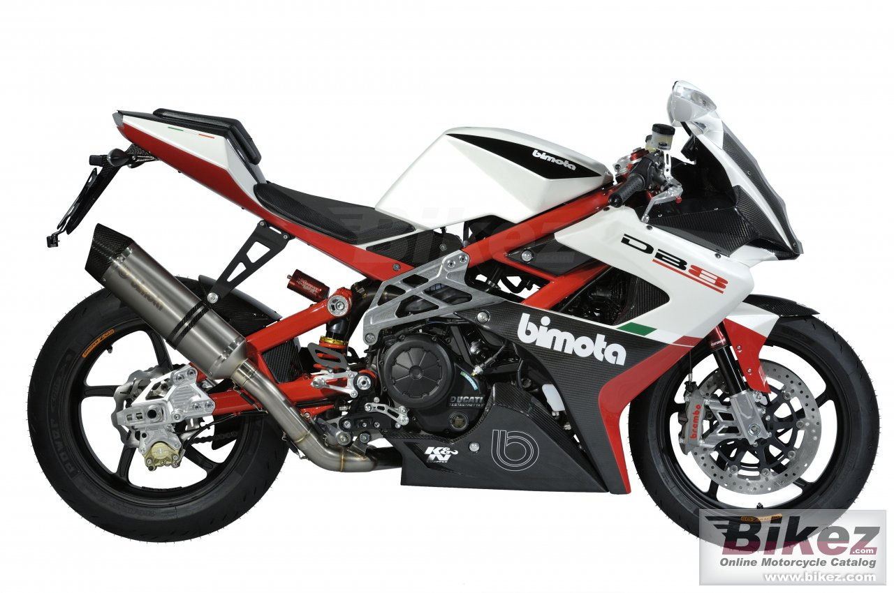 Big Bimota db8 biposto picture and wallpaper from Bikez.com