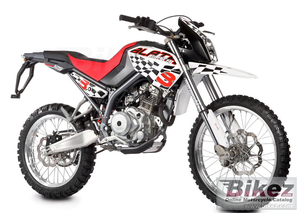 Big Blata enduro 125 bxe picture and wallpaper from Bikez.com