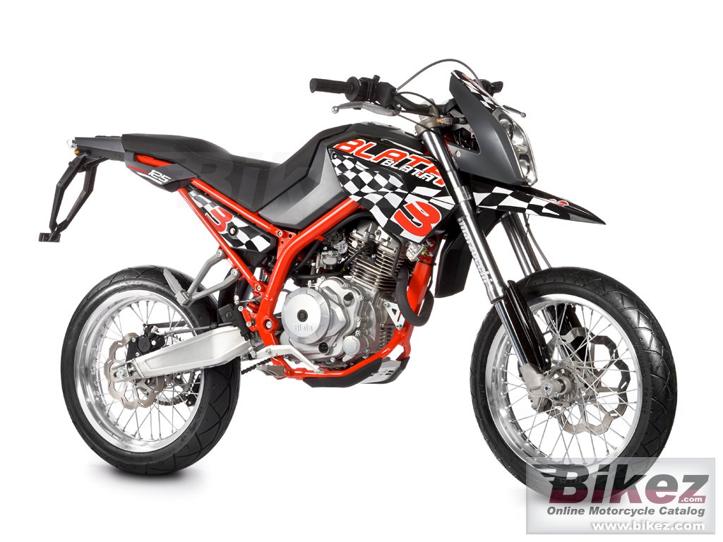 Big Blata motard 125 bxm picture and wallpaper from Bikez.com